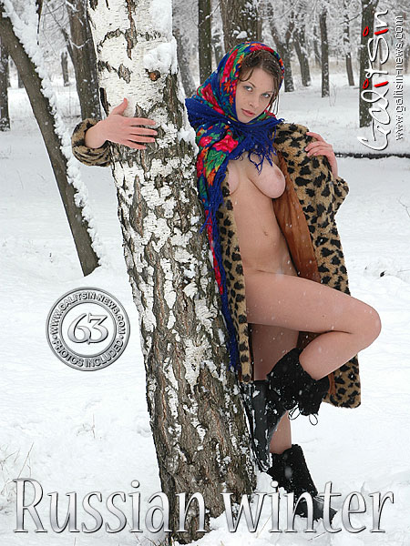 Katia - `Russian Winter` - by Galitsin for GALITSIN-NEWS