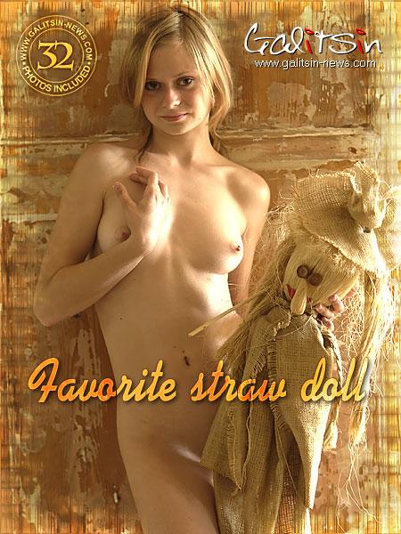 Vika - `Favorite Straw Doll` - by Galitsin for GALITSIN-NEWS