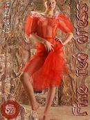 Anais - Fine Red Dress