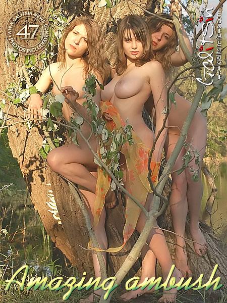 Katia & Twins - `Amazing Ambush` - by Galitsin for GALITSIN-NEWS