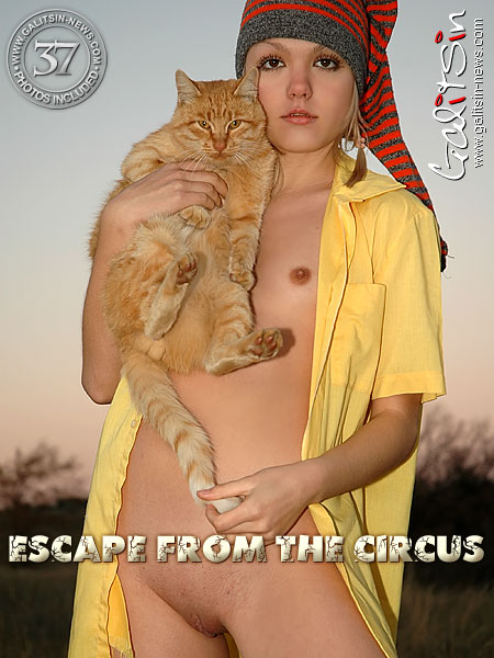 Liza - `Escape From The Circus` - by Galitsin for GALITSIN-NEWS