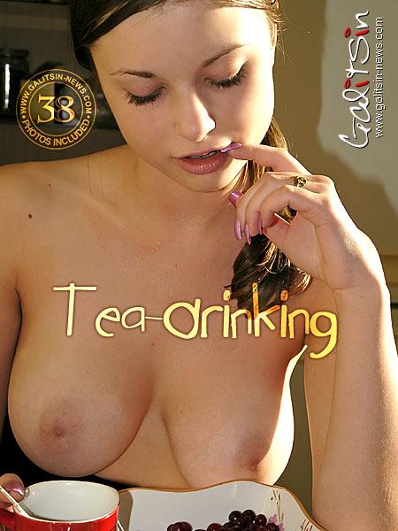 Katia - `Tea-Drinking` - by Galitsin for GALITSIN-NEWS