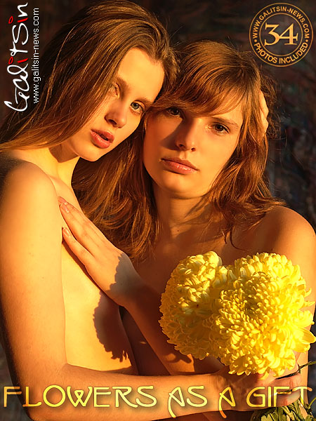 Alexa & Masha - `Flowers As A Gift` - by Galitsin for GALITSIN-NEWS