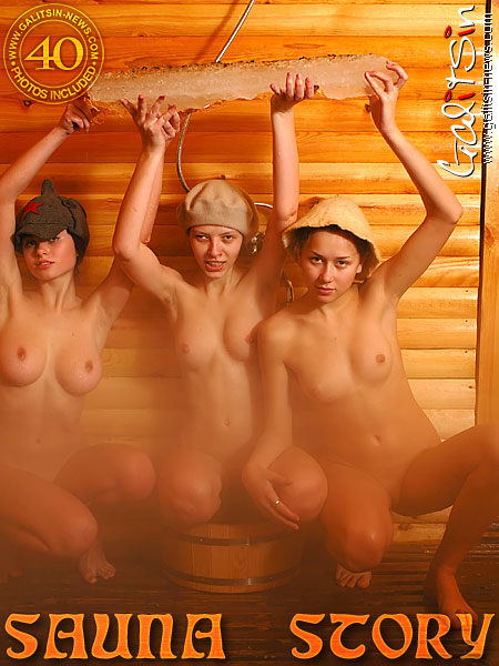 Alice & Katia & Valentina - `Sauna Story` - by Galitsin for GALITSIN-NEWS