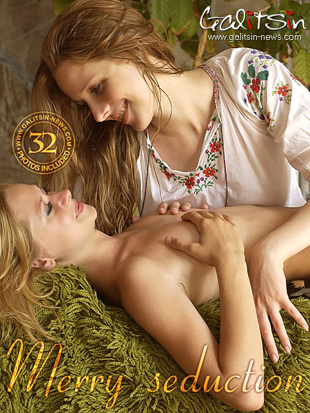 Alina & Vika - `Merry Seduction` - by Galitsin for GALITSIN-NEWS