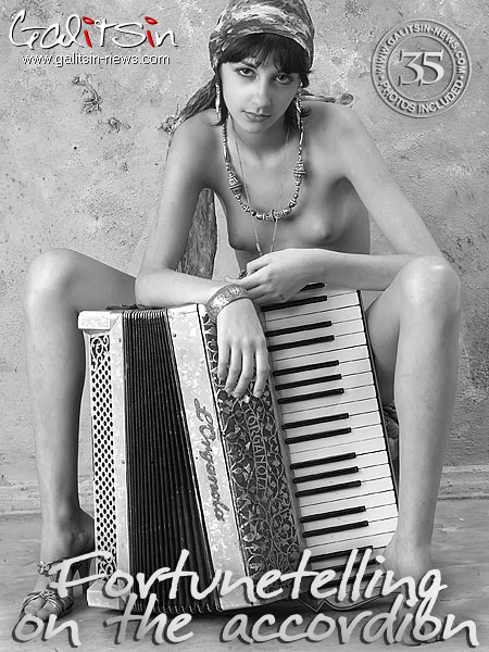 Milana - `Fortunetelling On The Accordion` - by Galitsin for GALITSIN-NEWS