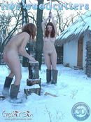 Aksinya & Masha in Hot Woodcutters gallery from GALITSIN-NEWS by Galitsin
