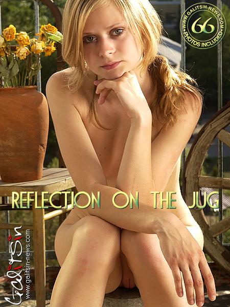 Vika - `Reflection On The Jug` - by Galitsin for GALITSIN-NEWS