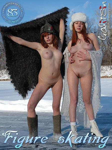 Aksinya & Masha - `Figure Skating` - by Galitsin for GALITSIN-NEWS