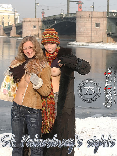Sindy & Valentina - `St. Petersburg's Sights` - by Galitsin for GALITSIN-NEWS