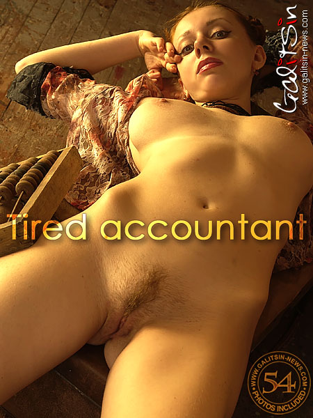 Aksinya - `Tired Accountant` - by Galitsin for GALITSIN-NEWS