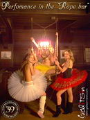 Kelly & Olesya & Sindy in Perfomance In The Rope Bar gallery from GALITSIN-NEWS by Galitsin