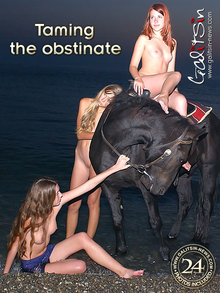 Alice & Lina & Maya - `Taming The Obstinate` - by Galitsin for GALITSIN-NEWS