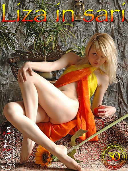 Liza - `Liza In Sari` - by Galitsin for GALITSIN-NEWS