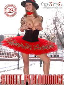 Sindy in Street Perfomance gallery from GALITSIN-NEWS by Galitsin