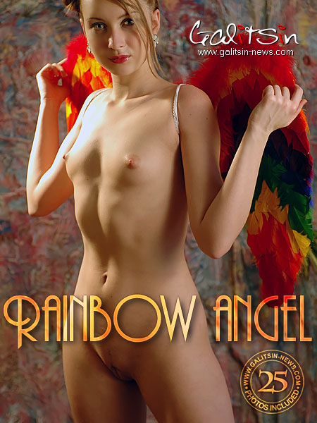 Valery - `Rainbow Angel` - by Galitsin for GALITSIN-NEWS