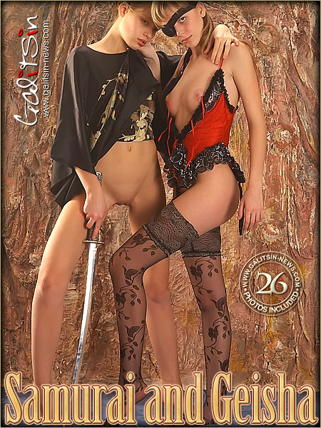 Olea & Valentina - `Samurai And Geisha` - by Galitsin for GALITSIN-NEWS