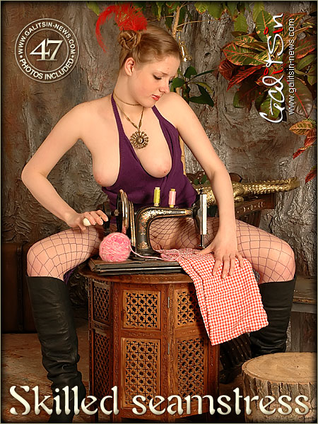 Alina - `Skilled Seamstress` - by Galitsin for GALITSIN-NEWS
