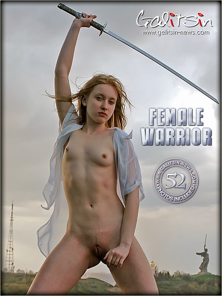 Valery - `Female Warrior` - by Galitsin for GALITSIN-NEWS