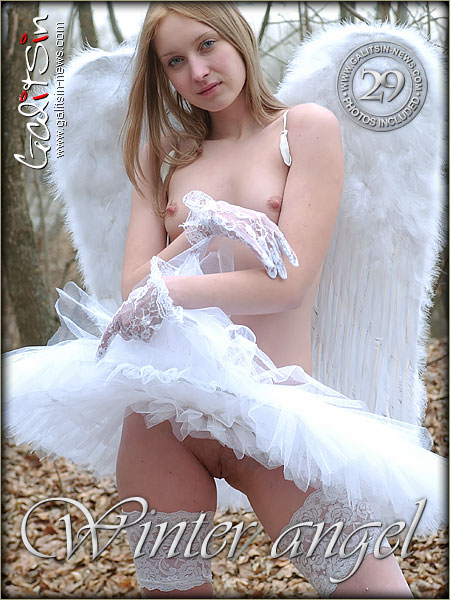 Valery - `Winter Angel` - by Galitsin for GALITSIN-NEWS