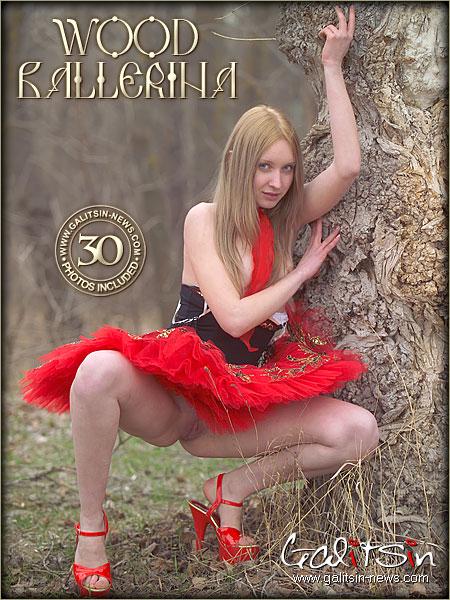 Valery - `Wood Ballerina` - by Galitsin for GALITSIN-NEWS