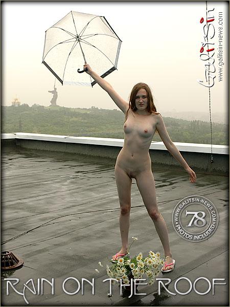 Lida - `Rain On The Roof` - by Galitsin for GALITSIN-NEWS