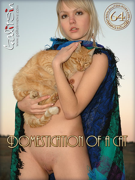 Liza - `Domestication Of A Cat` - by Galitsin for GALITSIN-NEWS