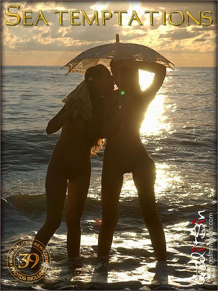 Lina & Valentina - `Sea Temptations` - by Galitsin for GALITSIN-NEWS