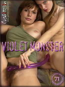 Alexa & Masha in Violet Monster gallery from GALITSIN-NEWS by Galitsin