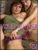 Alexa & Masha - Violet Monster