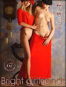 Uliana & Valentina in Bright Girlfriends gallery from GALITSIN-NEWS by Galitsin