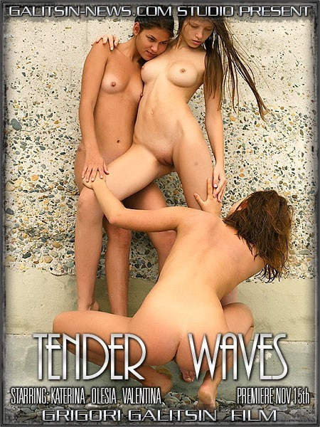 Katerina & Olesia & Valentina - `Tender Waves` - by Galitsin for GALITSINVIDEO