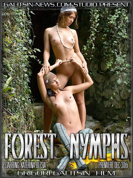 Katerina & Olesia in Forest Nymphs video from GALITSINVIDEO by Galitsin