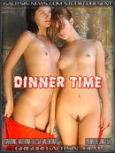 Katerina & Olesia & Valentina in Dinner Time video from GALITSINVIDEO by Galitsin