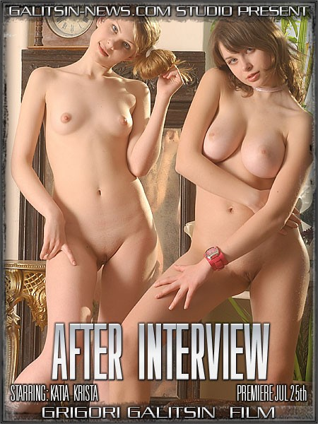 Katia & Krista - `After Interview` - by Galitsin for GALITSINVIDEO