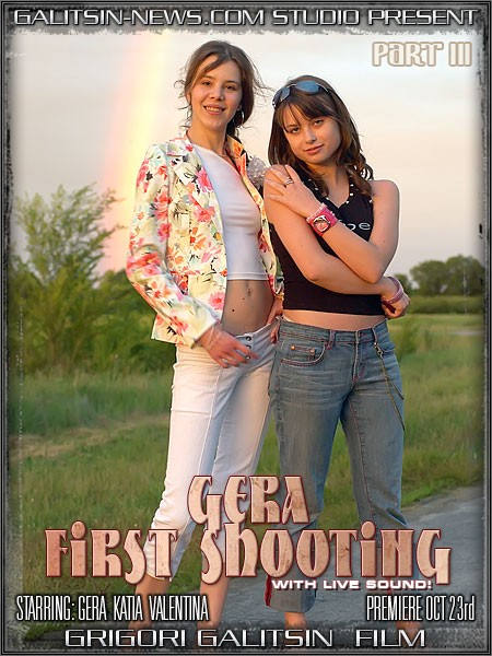 Gera & Katia & Valentina - `Gera First Shooting - Part III` - by Galitsin for GALITSINVIDEO