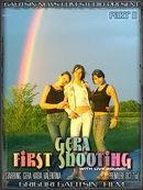 Gera & Katia & Valentina - Gera First Shooting - Part II
