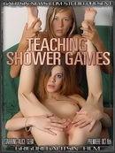 Alice & Gera - Teaching Shower Games