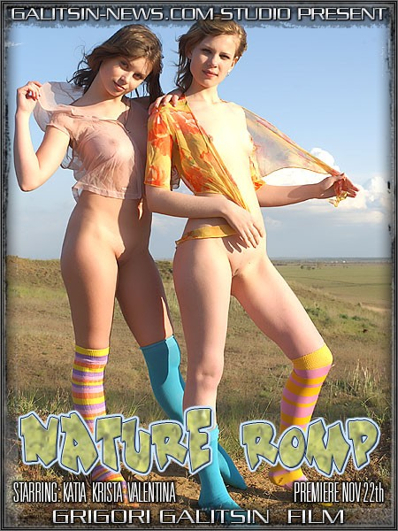Katia & Krista & Valentina - `Nature Romp` - by Galitsin for GALITSINVIDEO