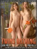 Twins Bathing video from GALITSINVIDEO by Galitsin