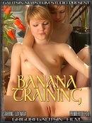 Liza & Natia - Banana Training