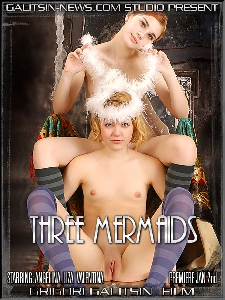 Angelina & Liza & Valentina - `Three Mermaids` - by Galitsin for GALITSINVIDEO