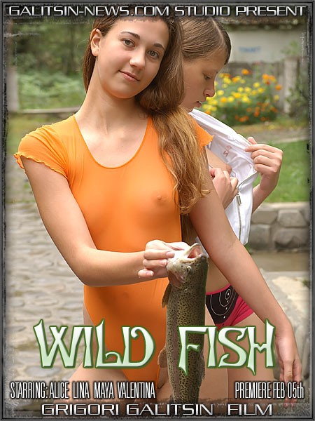 Alice & Lina & Maya & Valentina - `Wild Fish` - by Galitsin for GALITSINVIDEO