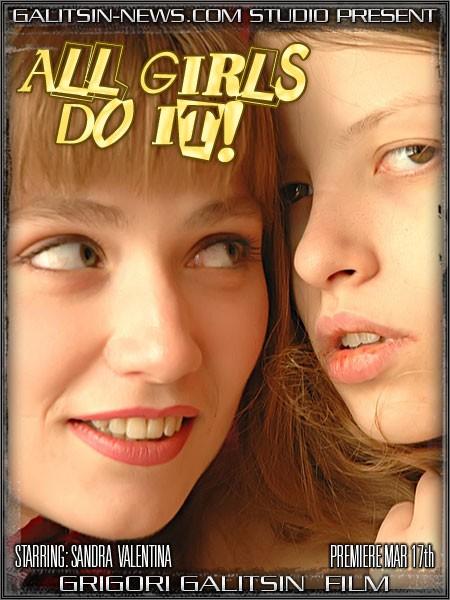 Sandra & Valentina - `All Girls Do It!` - by Galitsin for GALITSINVIDEO