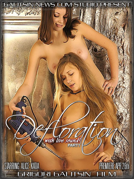 Alice & Katia - `Defloration - Part I` - by Galitsin for GALITSINVIDEO