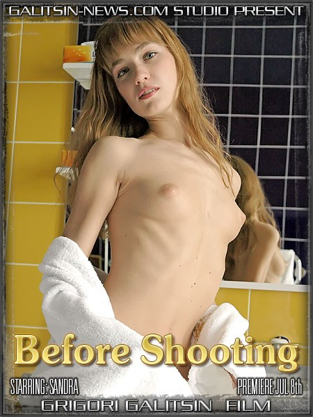 Sandra - `Before Shooting` - by Galitsin for GALITSINVIDEO