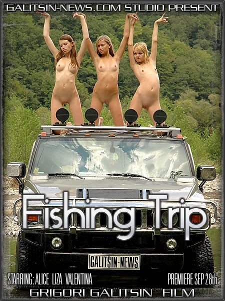 Alice & Liza & Valentina - `Fishing Trip` - by Galitsin for GALITSINVIDEO