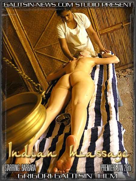 Barbara - `Indian Massage` - by Galitsin for GALITSINVIDEO