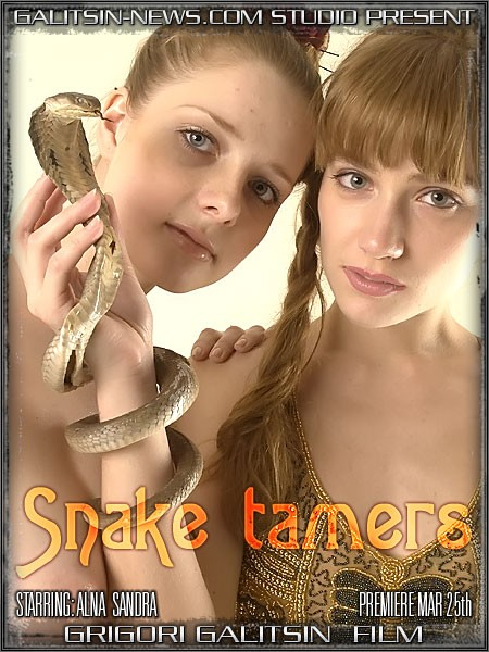 Alina & Sandra - `Snake Tamers` - by Galitsin for GALITSINVIDEO