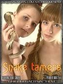 Alina & Sandra - Snake Tamers